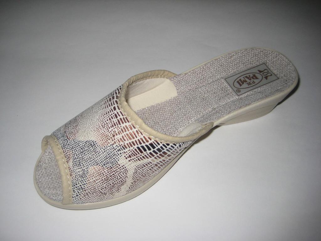 151-37  Обувь домашняя (тапочки из хлопка)