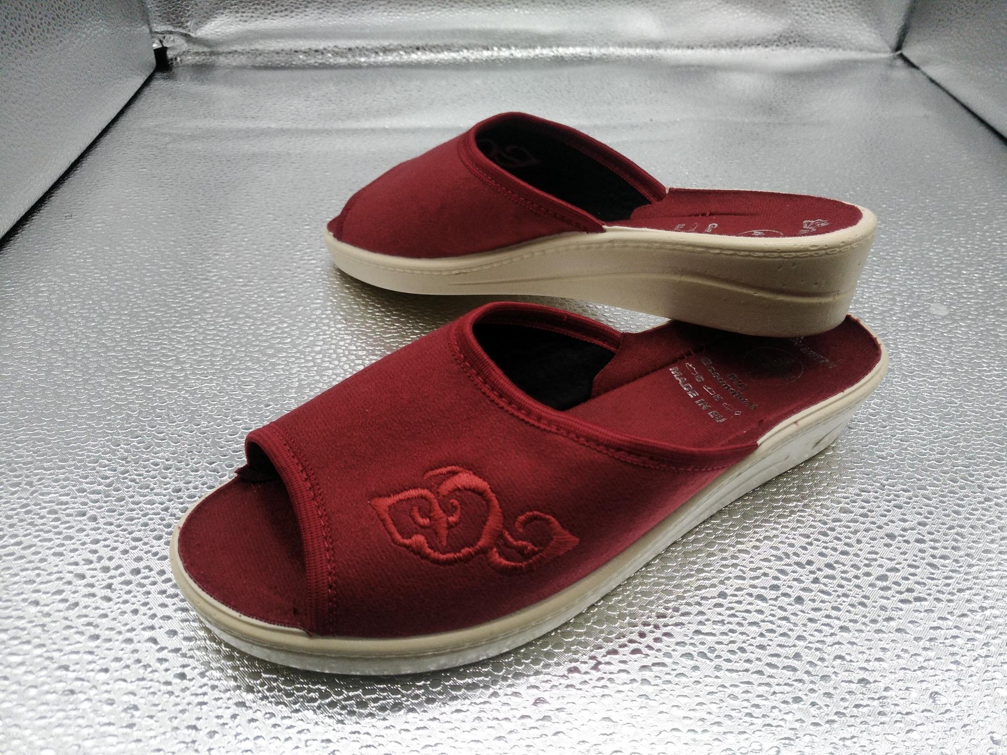 152-37  Обувь домашняя (без гарантии выбора цвета)